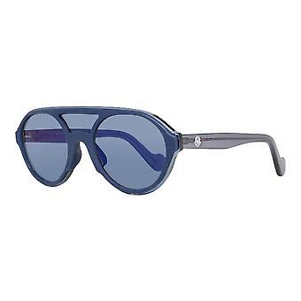 Unisex Sunglasses Moncler ML0052-91C Blue