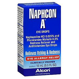 Alcon Naphcon A Eye Allergy Relief Drops, 15 ml