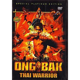 Ong Bak Guerrero Tailandés Película Dvd Kung Fu Acción -Vd7465A