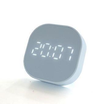 LED Digitaalinen keittiöajastin ruoanlaittoon Suihkututkimus Sekuntikello Herätyskello (sininen)