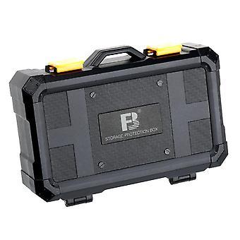 16 slotů Sd Tf Cf Xqd Memory Card Protection Box, Nikon Canon Sony Camera Battery Storage Case