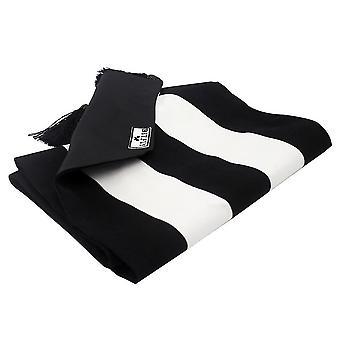 160cm Mode classique noir et blanc Fête Anniversaire Fournitures de décoration de mariage  Coureurs de table