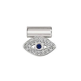 Nomination italy seimia pendant charm - greek eye  147123_001