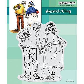 Penny Black Cling Stamps-Jack & Ginger