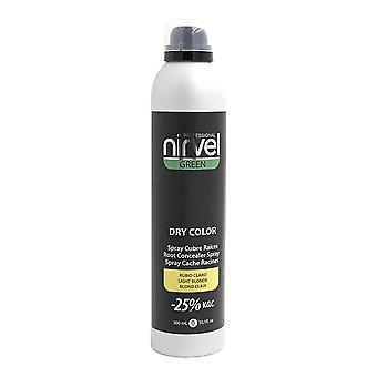 Grå hår spray grön torr färg Nirvel Ljus Blond (300 ml)