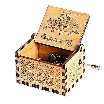 Holz Hand Musik Box falling In Love You Are My Sunshine Thema Weihnachten