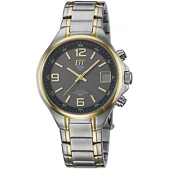 ONE (Eco Tech Time) Gold Stainless Steel EGS-11036-51M Men's Watch