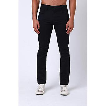 Dml jeans calvin chino slim fit pant - navy