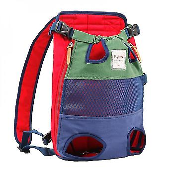 Pet carriers crates dog backpack - a pet backpack with front-facing legs  suitable for small and medium-sized dogs
