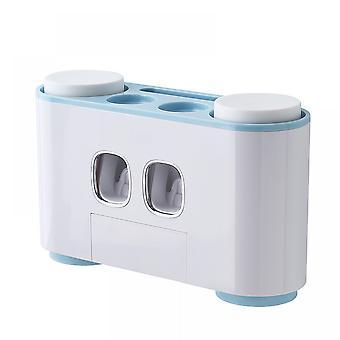 Hammasharjan pitimet Seinä asennetaan kylpyhuone-kylpyhuoneen järjestäjän säilytystarvikkeet asetettu lapsille Magneettinen kuppi ja Hammasharja Järjestäjäpaikat