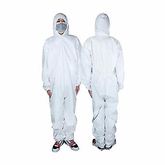 5 Pieces Of Disposable Pp Protective Clothing With Cap And No Feet (xxxl Code)