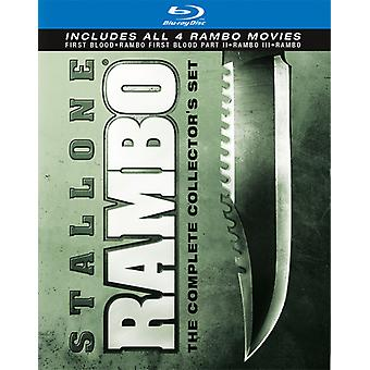 Rambo Complete Collection [BLU-RAY] USA import