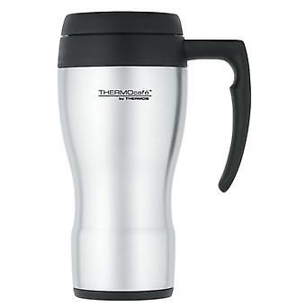 Thermos Thermocafe Stainless Steel 430 Hot and Cold Travel Mug 450ml