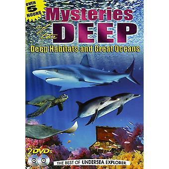 Mysteries of the Deep: Deep Habitats & Great Ocean [DVD] USA import