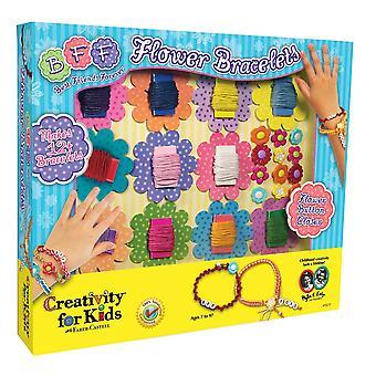 Kreativitet For børn - Bff blomst armbånd