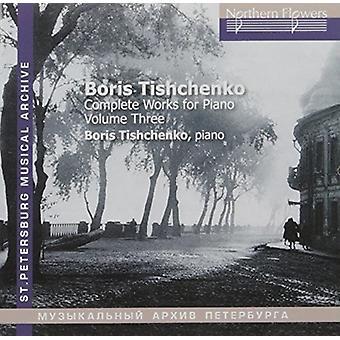Tishchenko / Mikhailov - Tishchenko: Piano Sonatas Nos. 6 & 7 [CD] USA import