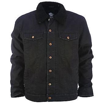Dickies Glenside Sherpa Fleece Lined Jacket Black
