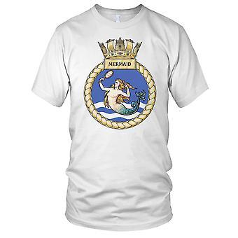 Royal Navy HMS Mermaid damer T skjorte