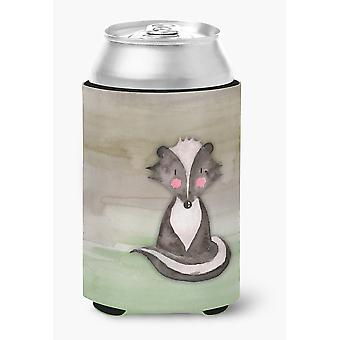 Carolines Treasures  BB7440CC Badger Watercolor Can or Bottle Hugger