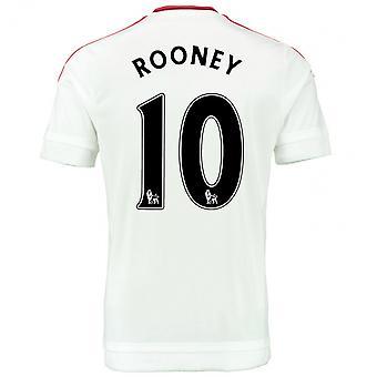 2015-2016 Man Utd Away Shirt (Rooney 10) - Kids