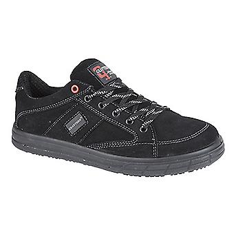 Grafters Mens Skate Type Toe Cap Safety Trainers