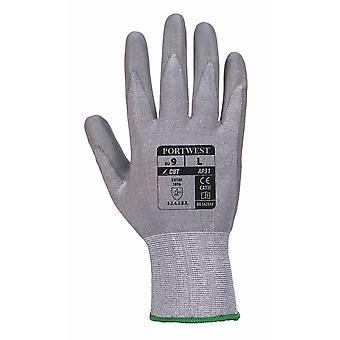 Portwest - 6 par Pack Senti corte mano Lite protección guante de agarre