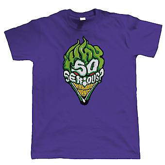 Why So Serious? Mens Comic-T-Shirt