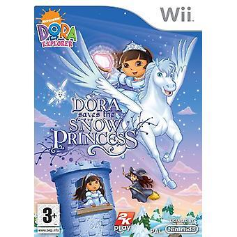 Dora the Explorer Dora Saves the Snow Princess (Wii) - New
