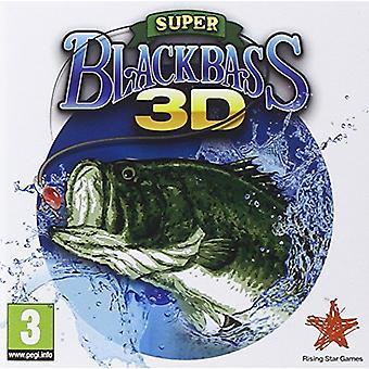 Super Black Bass 3D (Nintendo 3DS) - New