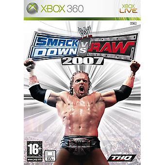 WWE SmackDown! vs.RAW 2007 (Xbox 360) - Als nieuw