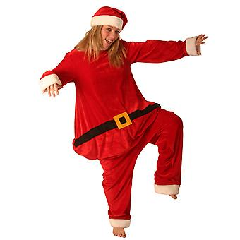 Vet Santa kostuum