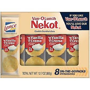 Lance Nekot Van O Lunch Cookie Sandwiches Rich Vanilla Creme