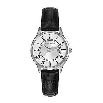 Pierre Cardin ladies watch bracelet watch Le Bouscat leather PC901732F01