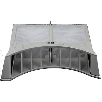 HotPoint TDL30N grå gångjärn Tumble Dryer Filter