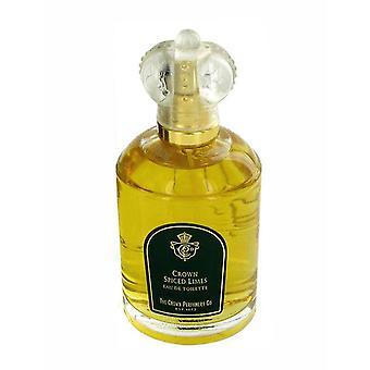 The Crown Perfumery Co. Crown Spiced Limes Eau de Toilette 3.4Oz/100ml New
