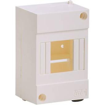 IDE 24150 Switchboard cabinet Surface-mount No. of partitions = 4 No. of rows = 1