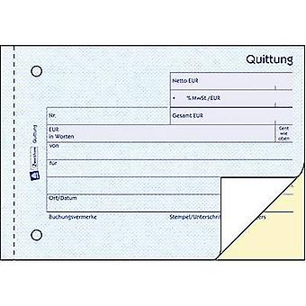 Avery-Zweckform 1735 Receipt A6 landscape No. of sheets: 40 White 80 sheet