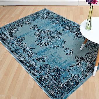 Doen herleven tapijten Re01 In Turquoise