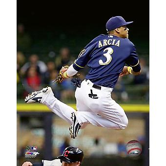 Orlando Arcia 2018 Action Photo Print