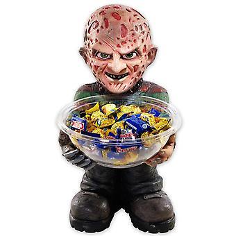 Freddy Krueger caramelo Bowl titular titular de caramelo, plástico (con Bowl)