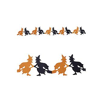 Halloween and horror  Witch Garland
