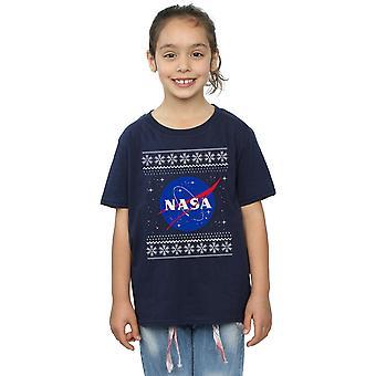 NASA klassische Fair Isle T-Shirt für Mädchen