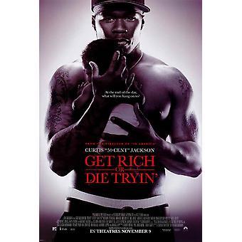 Get Rich or Die, yritä elokuvajuliste (11 x 17)