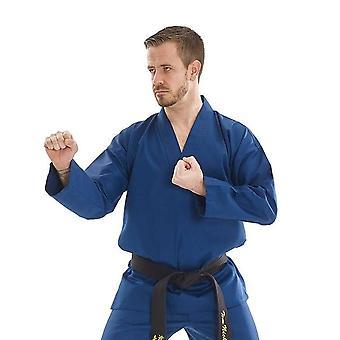 Bytomic vuxen blå v-ringad kampsport Uniform