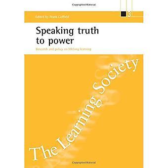 Speaking Truth to Power: Forschung und Politik des lebenslangen Lernens