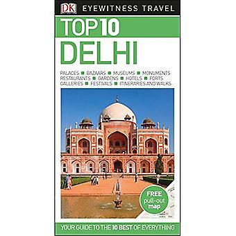 Top 10 Delhi - DK Eyewitness Travel Guide (libro en rústica)