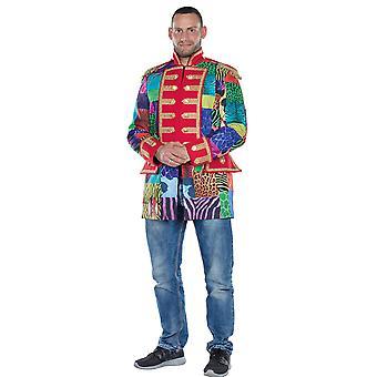 Kurtka Multi-Patch Kurtka męska Płaszcz Fool Carnival