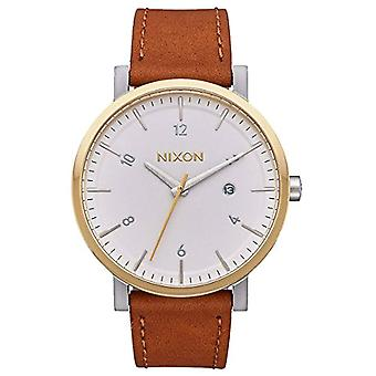 Nixon Analog quartz men's watch with leather A945-2548-00