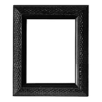25x30 cm or 10x12 inch, mirror in black