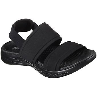 Skechers Womens On The Go 600 Foxy Ankle Strap Sandals